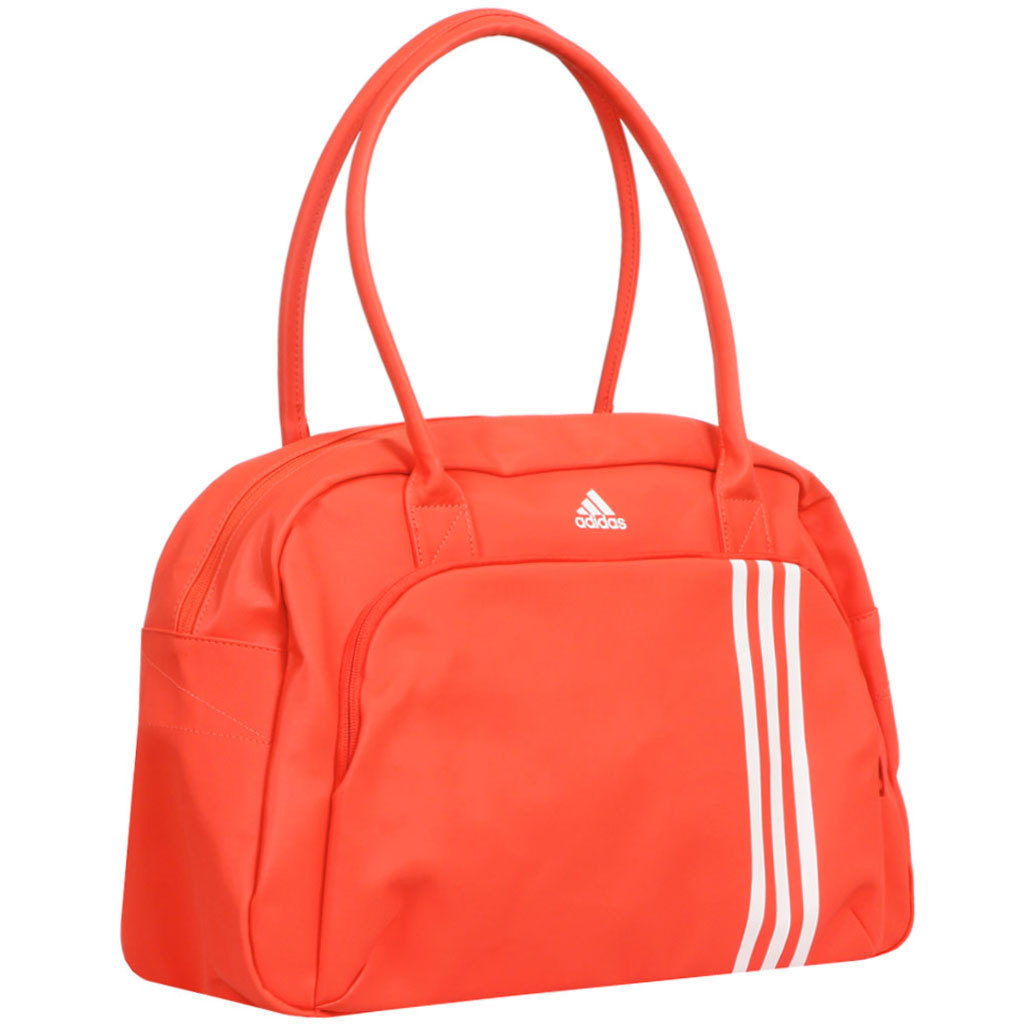 Оранжевая женская спортивная сумка Adidas