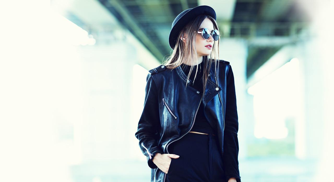 Кожаная куртка — стильное решение для любой фигуры рекомендации