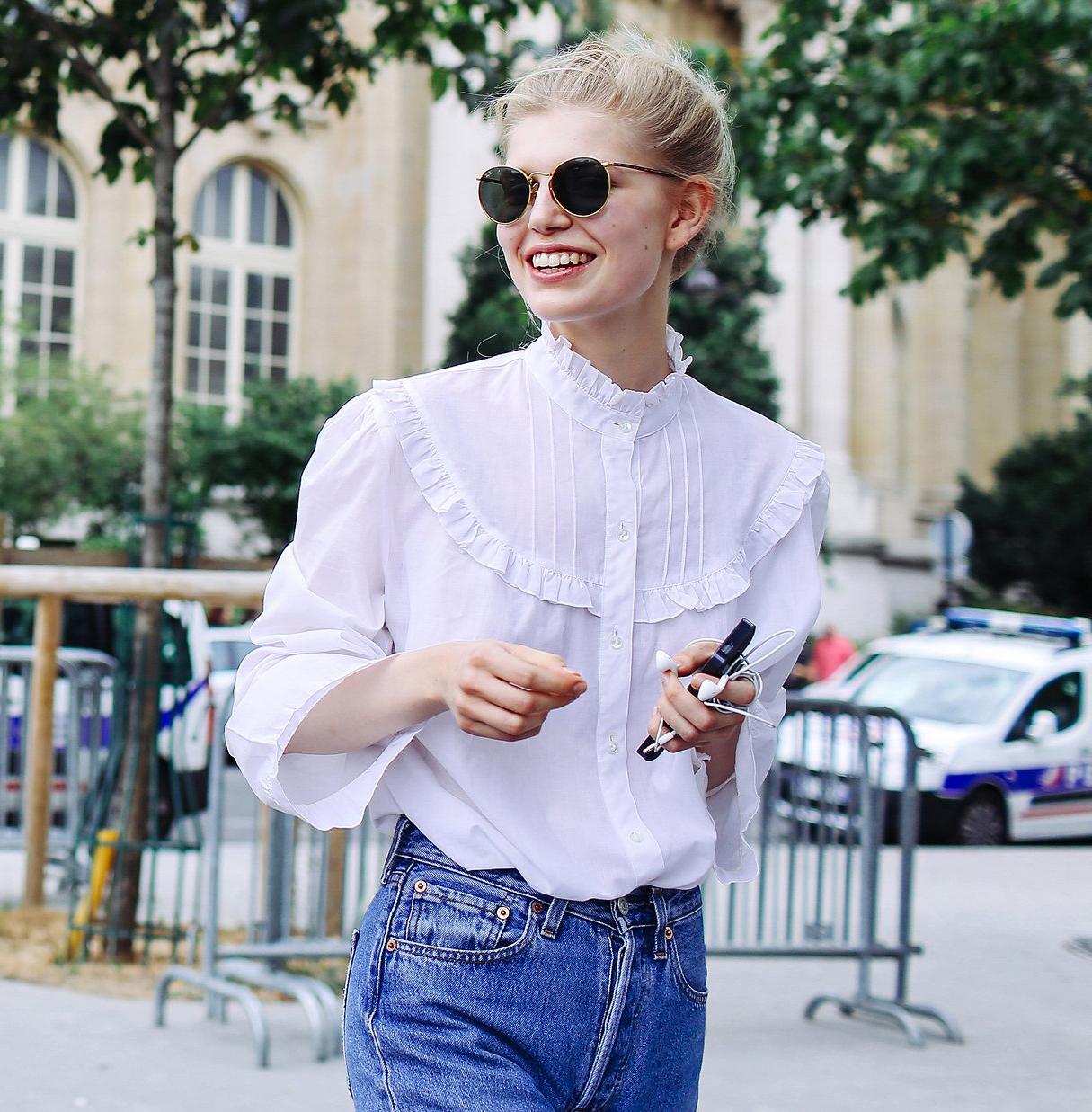 de0e7a95b4e Модные Блузки 2019 Женские Кружевные Белые и из Гипюра
