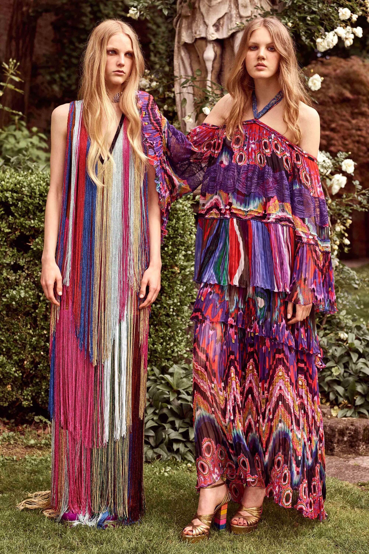 Платье с принтом из круизной коллекции