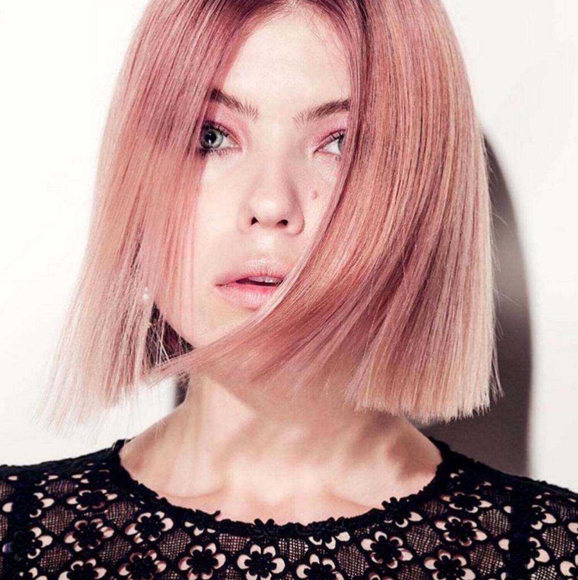 "Блонд ""розовое золото"""