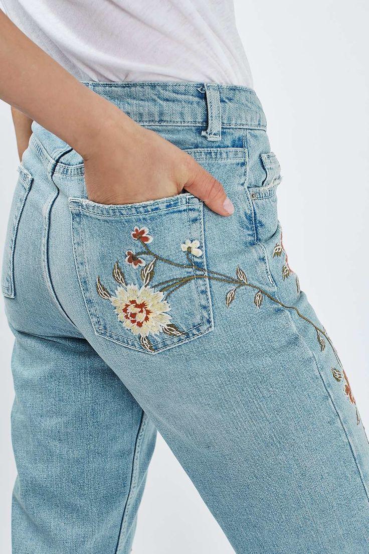 Рисунки на джинсах схемы