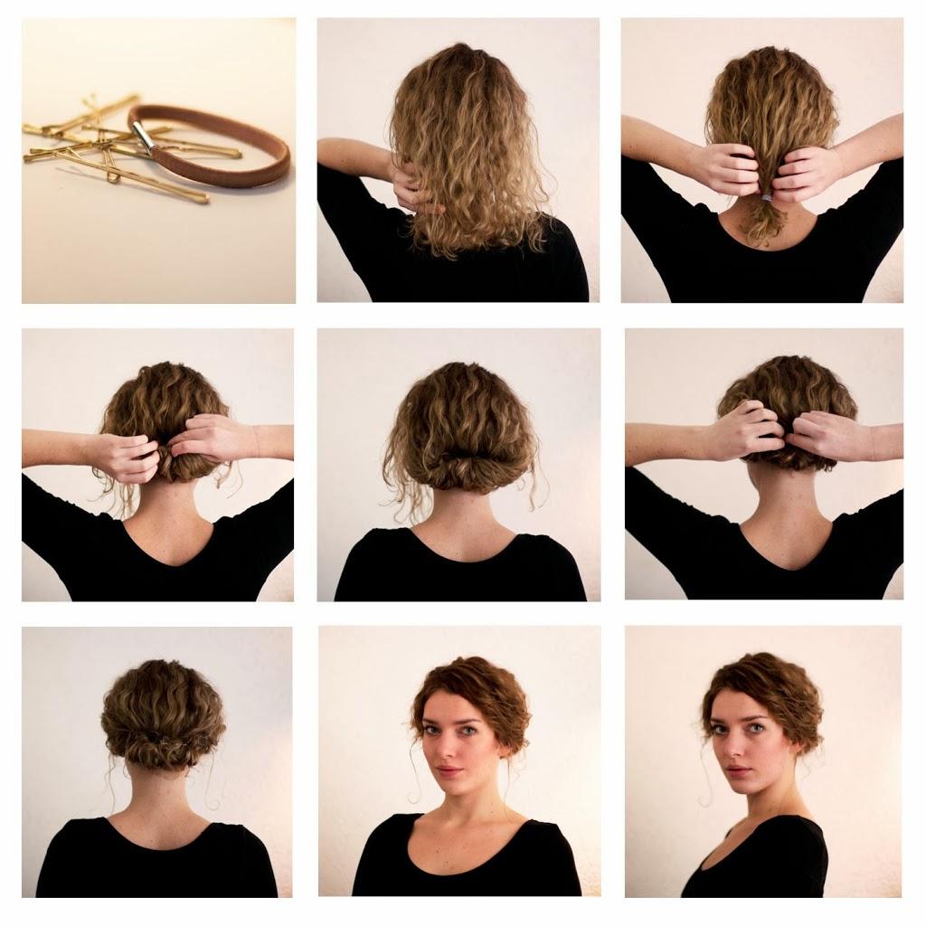 Как сделать на короткие волосы