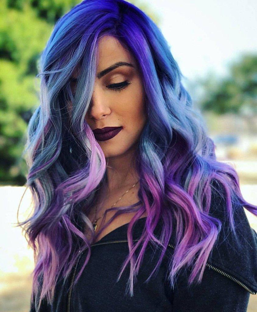 Мода покраски волос 2018 фото