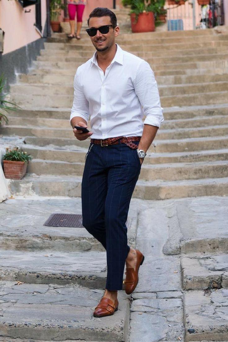 Italian fashion men summer Flauntr photo editor