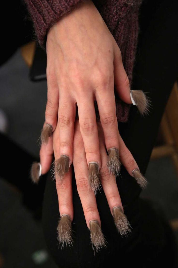 Нарощенные ногти уродливые фото