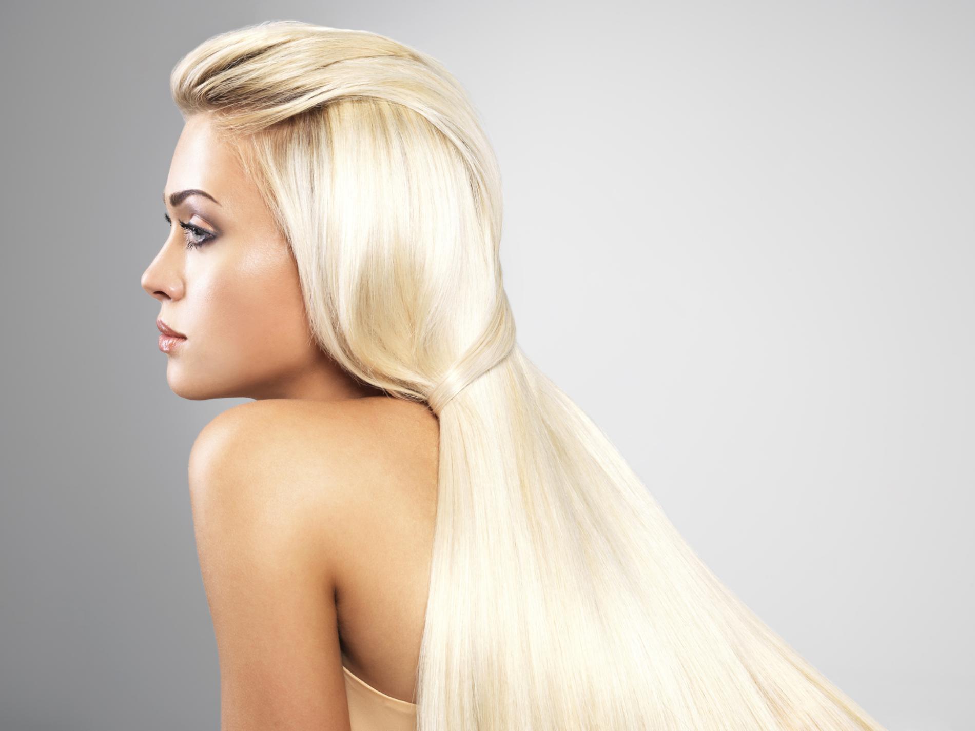 Длинные светлые волосы прически фото