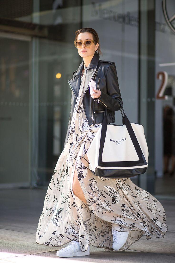 Black and white fashion trend 2018 10