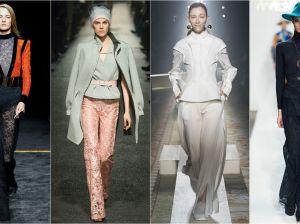 Кружевные брюки: стиль знаменитостей
