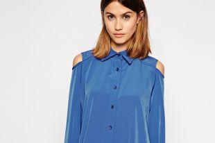 Рубашки и блузки с открытыми плечами: оригинальные модели на каждый день