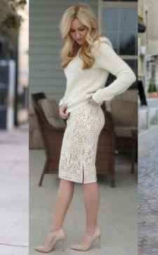 С чем носить гипюровую юбку: новый взгляд на привычные образы