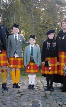 Шотландская национальная одежда