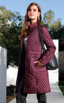 Модное стеганое пальто: с чем носить