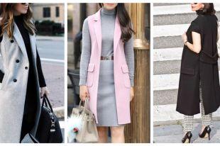 Длинный пиджак – must have современной модницы