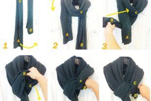 Как завязывать мужской шарф: стильные варианты на каждый день и для выхода в свет
