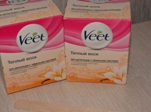 Как подобрать теплый воск для депиляции Veet: советы специалистов