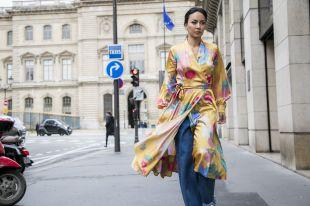 Платье-халат: все о фасонах, стилях, модных трендах и секретах создания модных луков