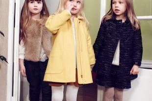 Пальто для девочек: яркие акценты в осенне-зимнем детском гардеробе
