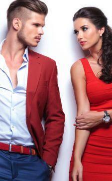 Красный цвет в одежде: энергия и страсть