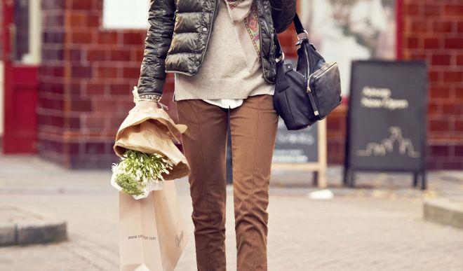 Асимметрия, обилие фактур и декоративных вставок — фасон куртки 2019