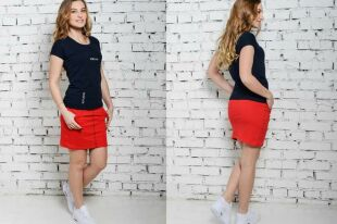 Спортивные юбки: нюансы создания стильных и практичных образов