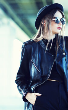Женские кожаные куртки 2020: модные фасоны сезона весна-лето