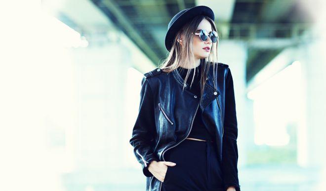 Женские кожаные куртки 2017: модные фасоны сезона весна-лето