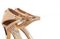 Золотые босоножки: с чем носить и как сочетать