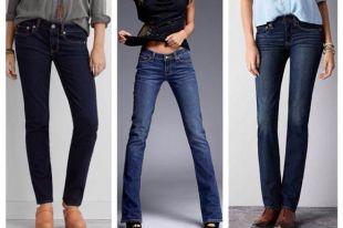 Синие джинсы: в моде традиционная классика и смелые «рваные» модели