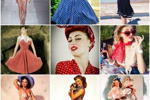Стиль пин-ап в одежде: современное переосмысление моды прошлого века