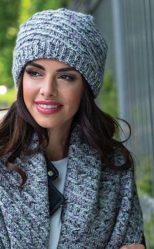 Женские вязаные шапки – стильное дополнение гардероба в разное время года