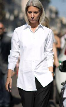 Женская белая рубашка 2018: актуальные фасоны и модные направления