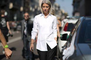 Женская белая рубашка 2019: актуальные фасоны и модные направления