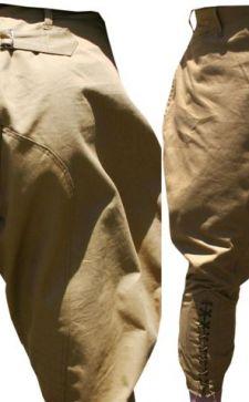 Мужские штаны-галифе – выбор динамичных и смелых модников