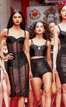 Роскошный бренд Dolce & Gabbana: золотой 2018 год