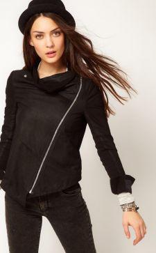 Замшевые женские куртки: с чем носить различные фасоны весной и осенью