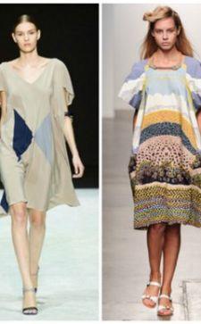 Модное платье балахон — с чем носить вязаные и велюровые фасоны