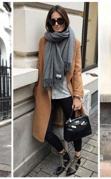 Как носить палантин с пальто: гармоничное сочетание стиля и яркой индивидуальности