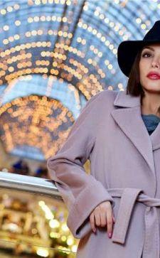 Английский воротник на пальто: элегантная классика вне времени
