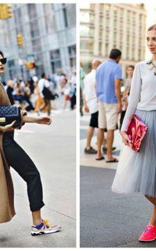 Модные женские луки весна лето 2019
