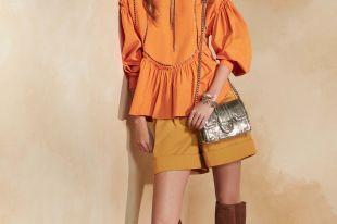 Блузка с баской – роскошь классики в повседневных и торжественных образах