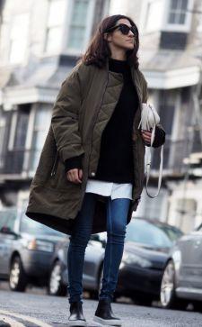 Удлиненные женские куртки – комфорт всегда в моде