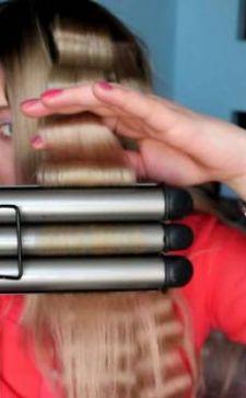 Тройная плойка для волос: фото, разновидности, возможности применения