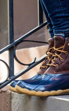 Резиновые ботинки 2019 – универсальная обувь для межсезонья