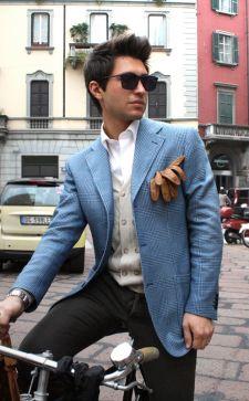 Мужской пиджак под джинсы или классические брюки