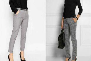С чем носить серые брюки и как создать стильный образ на базе вещей нейтрального цвета