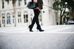 Черные сапоги – любимая классика