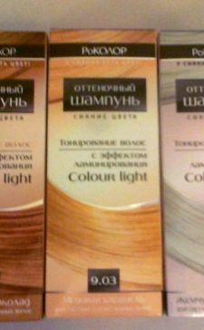 Оттеночный шампунь «РоКолор»: особенности выбора и применения