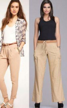 С чем надеть бежевые брюки: рекомендации стилистов
