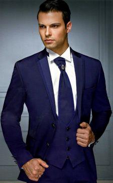 Синий мужской костюм: как правильно выбрать оптимальный вариант, подходящий на все случаи жизни